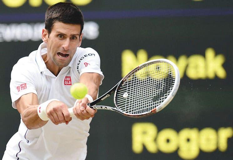 Djokovic asaltó todo