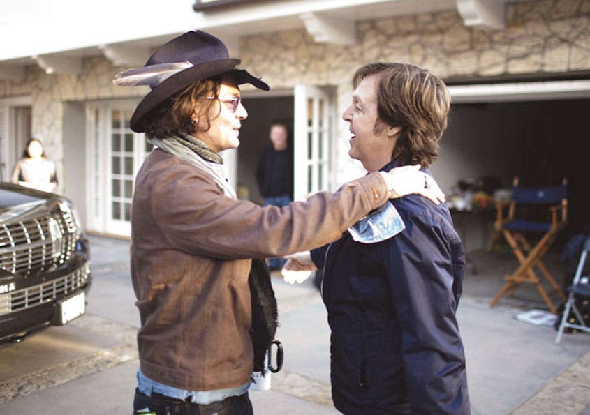 "Depp hace ""cameo"" en vídeo de McCartney"
