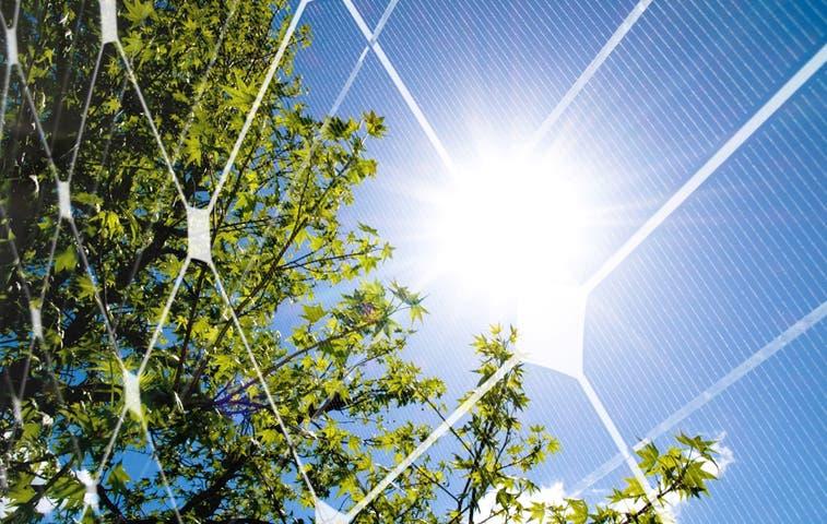 Empuje para generación de energía solar