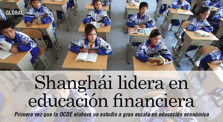 Shanghái lidera en educación financiera