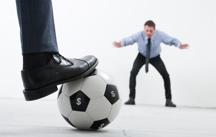 Cayó morosidad de equipos de fútbol