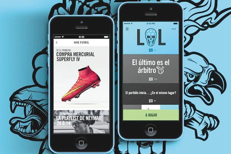 """Nike Football"", una aplicación para organizar partidos"