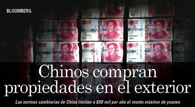 Chinos compran propiedades en el exterior