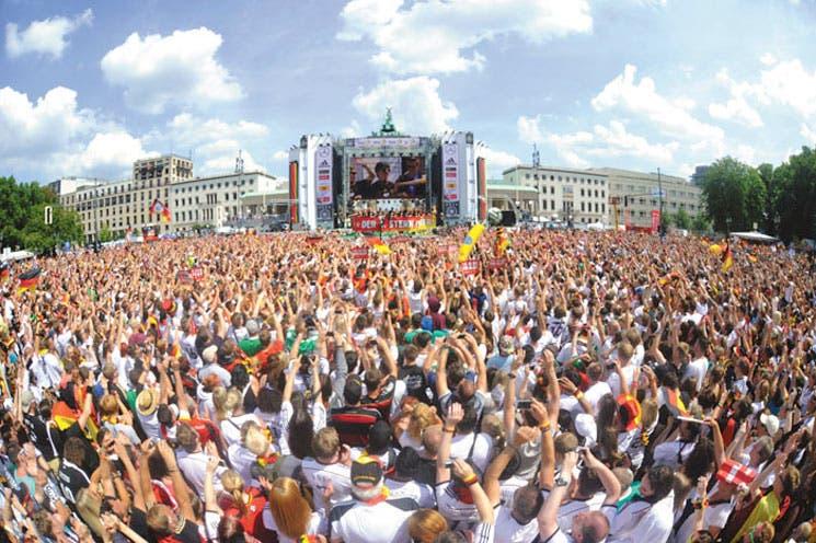 Alemania se rindió a sus héroes