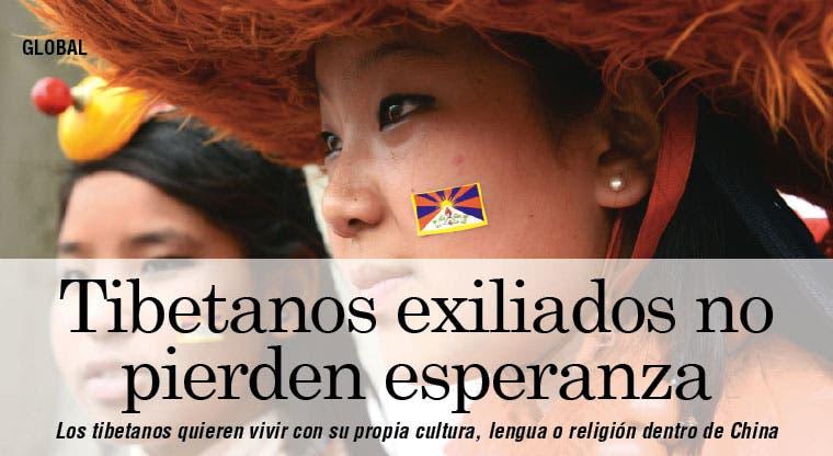Tibetanos exiliados en la India no pierden esperanza