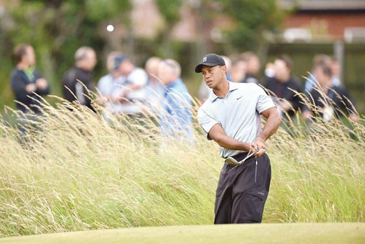 Tiger va por el British