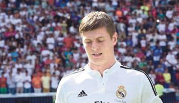 Kroos, el nuevo ocho blanco
