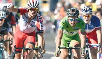 Kristoff también puede con Sagan