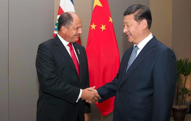 China acude a peticiones de Solís