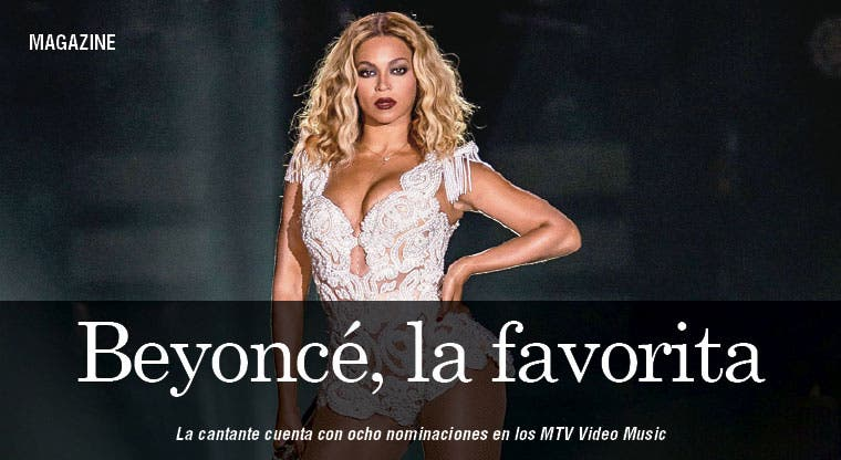 Beyoncé, favorita de los Video Music Awards