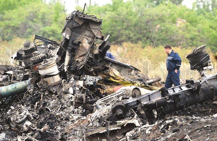 Ucrania y rebeldes se culpan mutuamente del siniestro