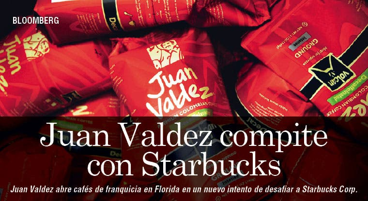 Juan Valdez sale a competir con Starbucks