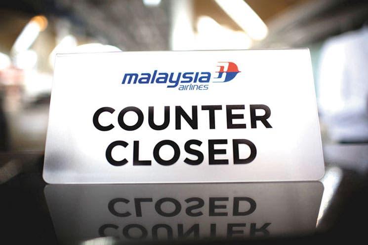Malaysian Airlines puede dejar de cotizar en bolsa