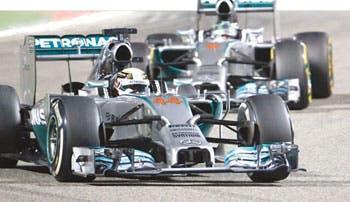 Rosberg buscará contener a Hamilton
