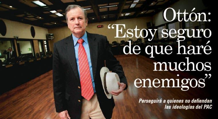 """Ottón Solís: """"Tengo bastantes enemigos y seguro haré más"""""""