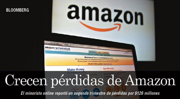 Crecen las pérdidas de Amazon