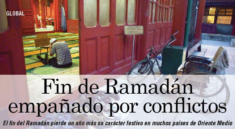 Países árabes celebran fin de Ramadán empañado por conflictos