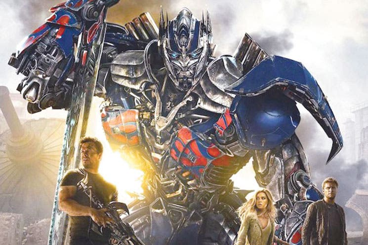 """Transformers 4"" bate récords"