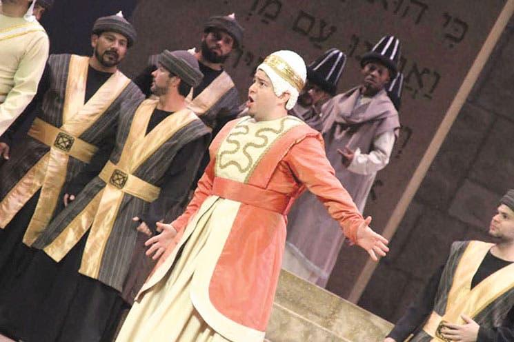 """Nabucco"" cobra vida hoy"