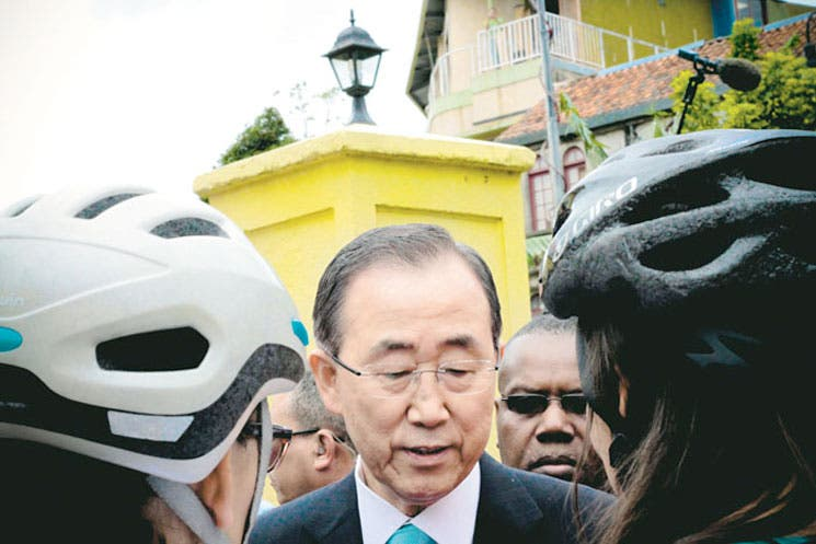 """Ban Ki-moon: """"Proteger derechos es sinónimo de desarrollo"""""""