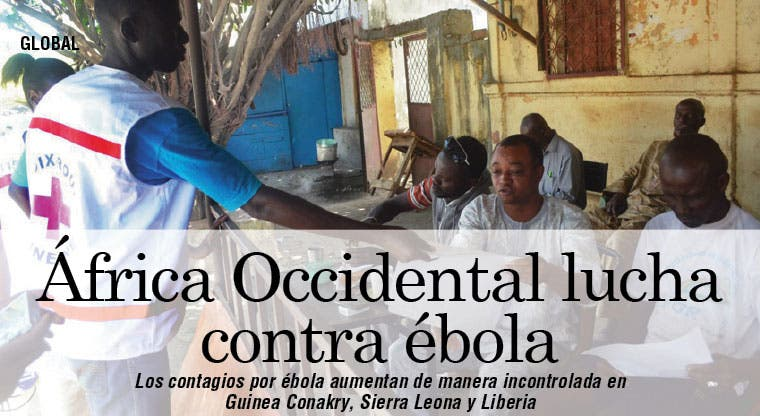 África Occidental lucha contra ébola