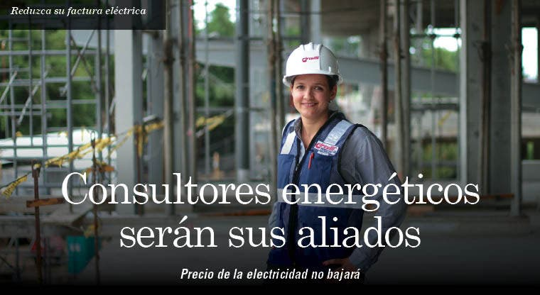 Consultores energéticos serán sus aliados