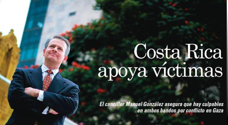 """""""Costa Rica está del lado de las víctimas"""": Canciller"""