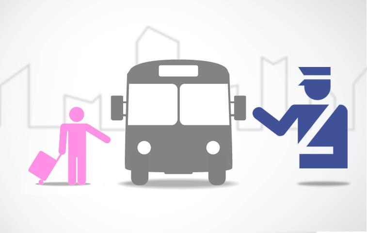 Autobuseros se reúnen con Fuerza Pública
