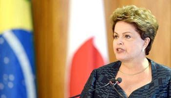 Rousseff y candidatos se citan con sector agrícola