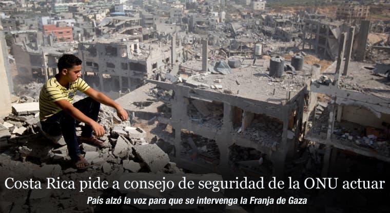 Costa Rica pide a consejo de seguridad de la ONU actuar