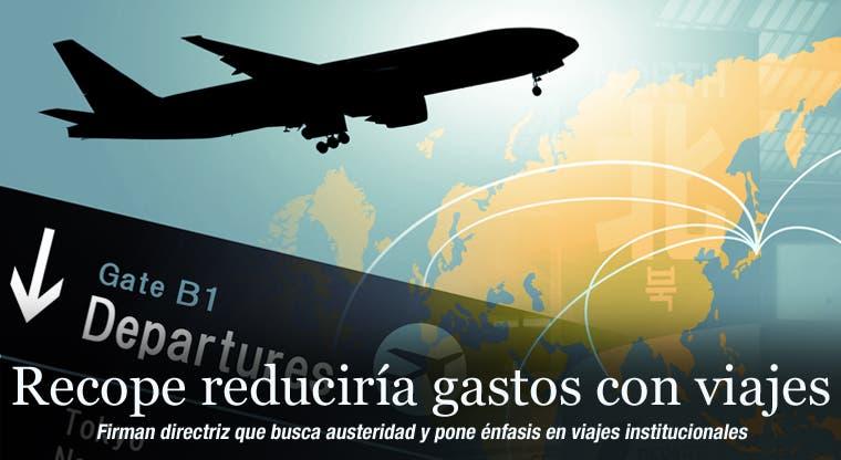 Recope quiere reducir gastos con viajes