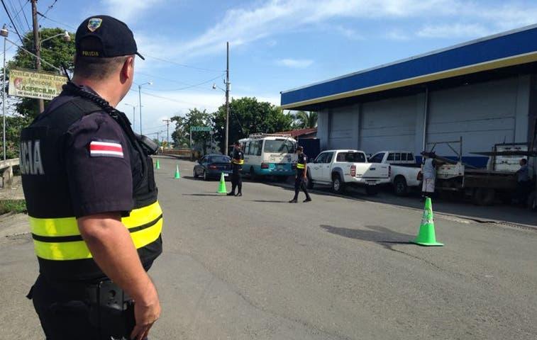 Mayor vigilancia policial en Limón