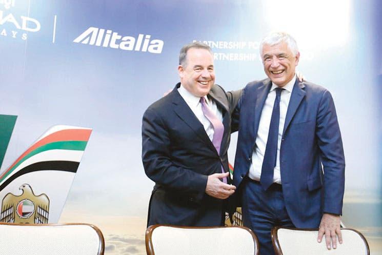 Etihad firmará acuerdo de compra de Alitalia