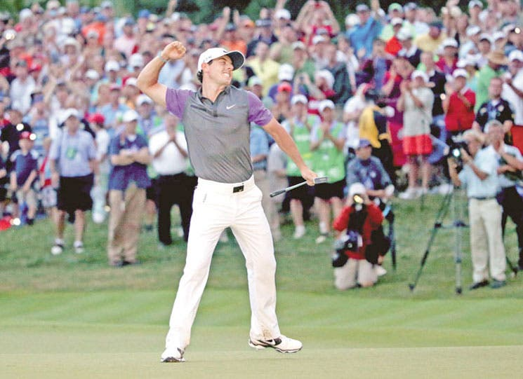 Rory imparable