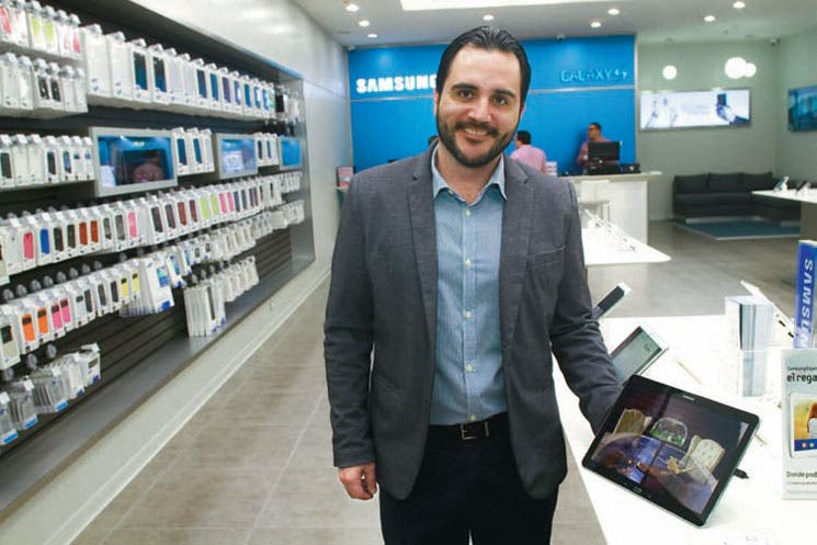 Samsung Electronics inaugura tienda