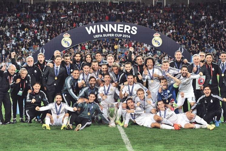 Real Madrid conquistó la Supercopa