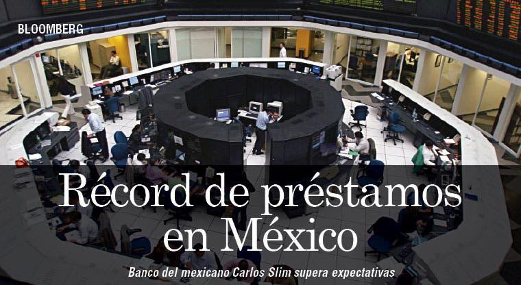 Banco de Slim alcanza récord de préstamos