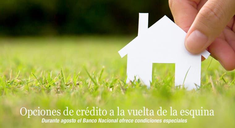Opciones de crédito habitacional a la vuelta de la esquina