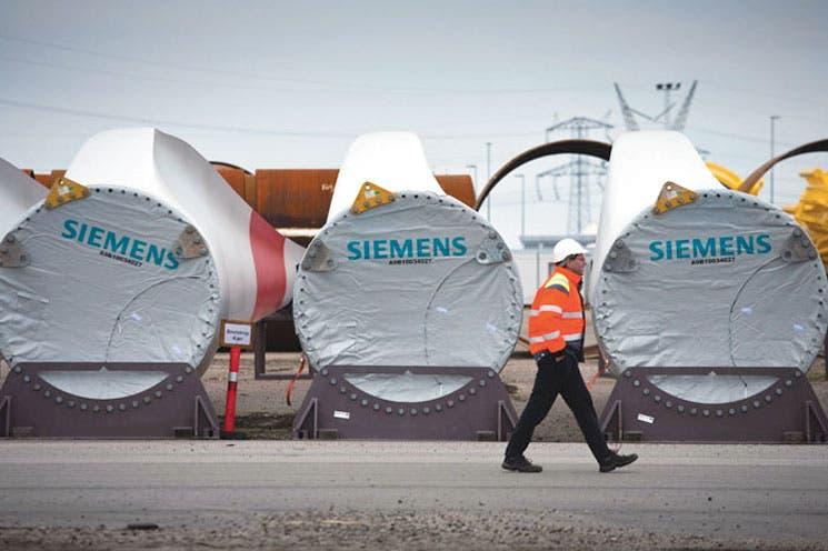 Siemens decepcionada del mercado eólico de China