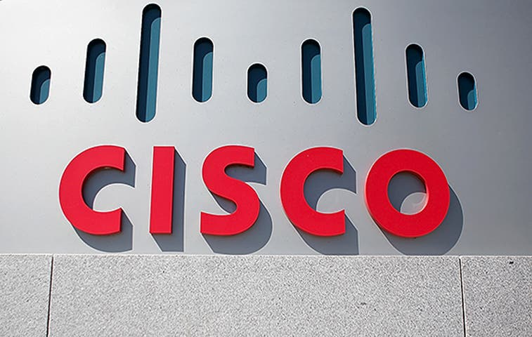 Beneficios anuales de Cisco bajan 21,3%