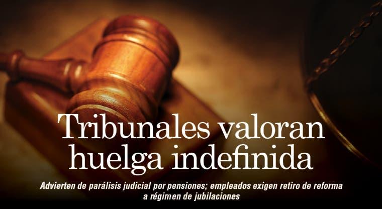 Advierten de parálisis judicial por pensiones