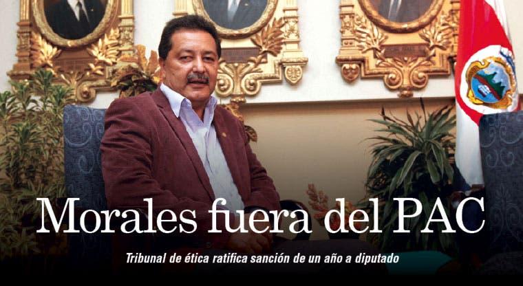 Morales fuera del PAC