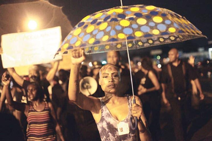 Protestas evocan los disturbios raciales en Estados Unidos.