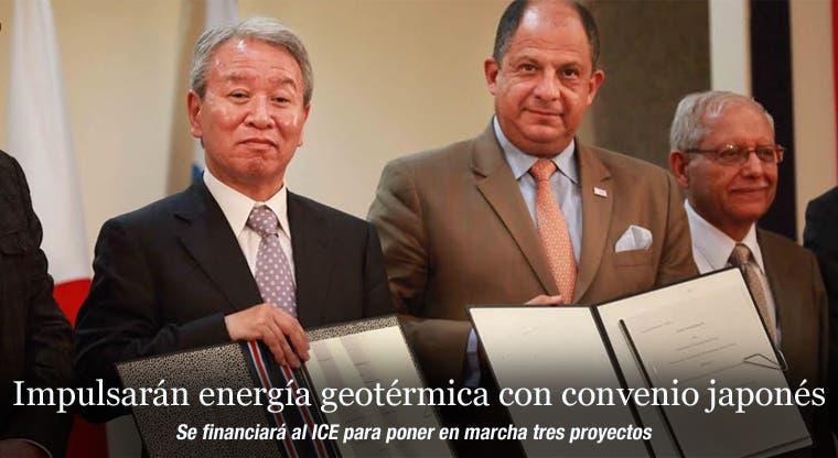 Impulsarán energía geotérmica con convenio japonés