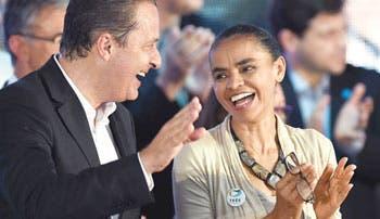 Marina Silva será reemplazo de Campos en Brasil