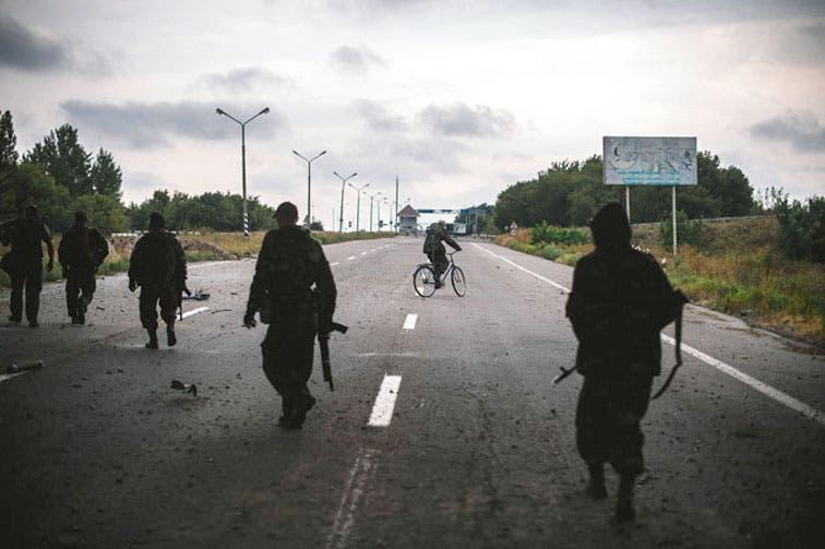 Ucrania denuncia destrucción de paso fronterizo