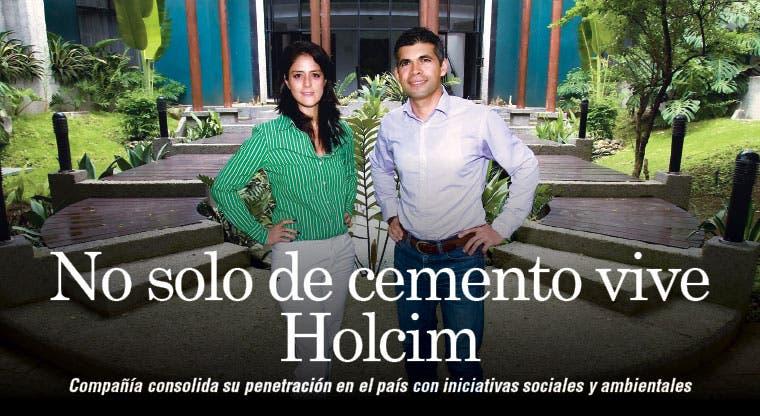 No solo de cemento vive Holcim
