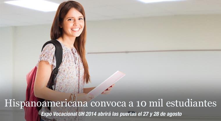Hispanoamericana convoca a 10 mil estudiantes