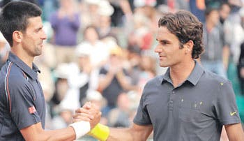 ¿Djokovic-Federer, en la final?