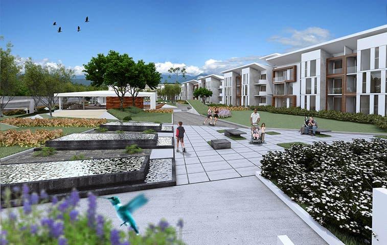 Santa Ana albergará complejo de 120 apartamentos
